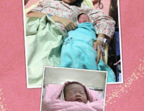 迎接第二個寶寶的 i-shan媽咪平安生產